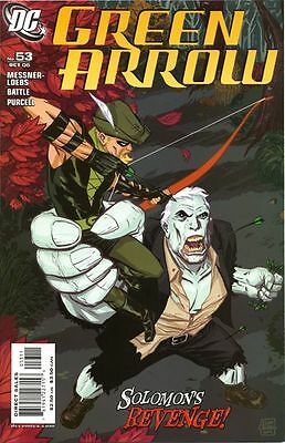 Dc Green Arrow #53 Comic Cw Tv Show Solomon Grundy