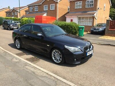 2007 Bmw 520D M Sport Hpi Clear Fully Loaded Automatic