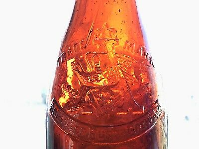 Anheuser Busch Bottle Tooled Top Early 1900s