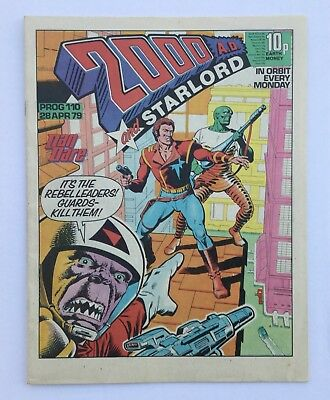 1977 2000AD Prog 110 - Signed Copy - Excellent Condition