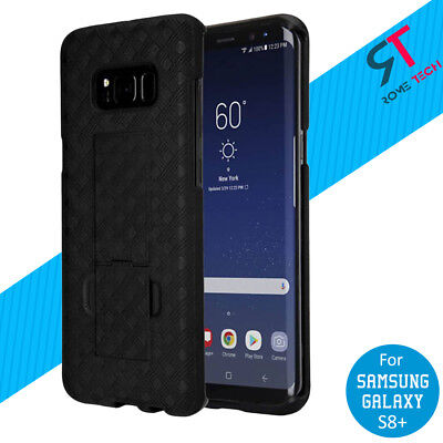Rome Tech Shell Holster Combo Case With Belt Clip for Samsung Galaxy S8+ Plus