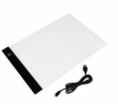 A4 LED Art Board Craft Tracing Drawing Stencil Pad Light Box Panel Dimmable