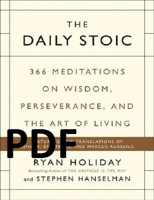 (PDF)  The Daily Stoic 2016 by Ryan Holiday EB00K