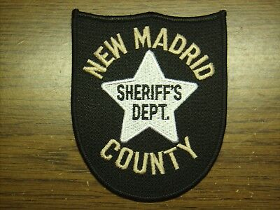 Police Patch #44 - New Madrid County , Missouri - Sheriff's Department -