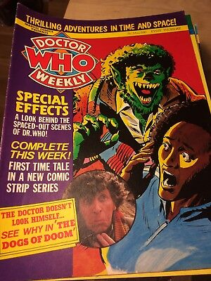 DWM 30 DOCTOR DR WHO WEEKLY MAGAZINE May 1980 Tom Baker Daleks