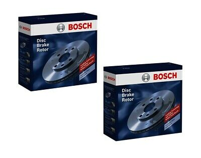 Bosch Brake Rotor Pair Front BD493 fits BMW 3 Series 318 i (E46) 105kw, 320 i...