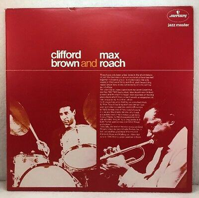 --  Clifford Brown And Max Roach  -- ‎– Clifford Brown And Max Roach, 6336 322