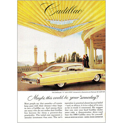 1960 Cadillac: Maybe This Could Be Your Someday Vintage Print Ad