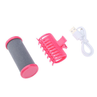 USB DIY Home Hair Roller Salon Hairdressing Curlers Clips for Women Ladies