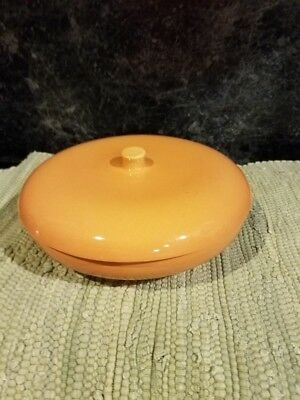Iroquois Casual China by Russel Wright- Rare Cantaloupe divided vegetable / lid