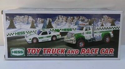 2011 HESS Christmas Truck - TOY TRUCK & RACE CAR - BRAND NEW