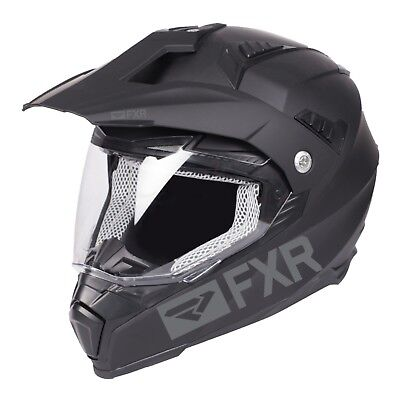 2019 Fxr Octane X Recoil Helmet With Electric Shield - Black Ops