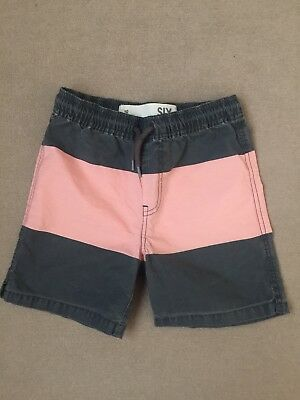 Cotton On Kids Boy Striped Swimming Shorts 5-6T