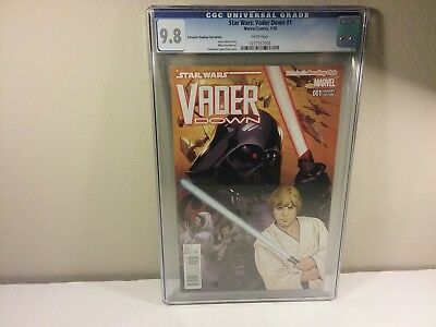 Star Wars Vader Down #1, Lupacchino, Scholastic Reading Club Variant, CGC 9.8