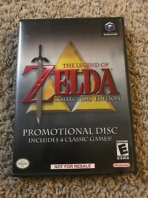 The Legend Of Zelda Collectors Edition GameCube - Used - Complete