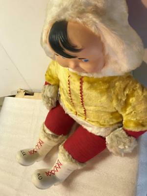Clicquot Klee Ko Club Soda Mascot Promotional Eskimo Doll Old Vintage Antique