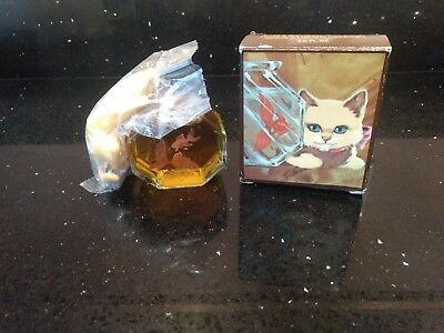 "Vintage Curious Kitty ""AVON"" Brand New Old Stock"