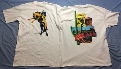 NWOT Lot Of 2 Vintage 90s Marlboro Country Store T-Shirt XL Cigarette Western
