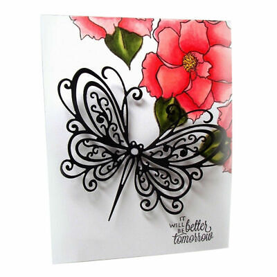 Lace Butterfly Metal Cutting Dies Scrapbooking Embossing Paper Cards Craft Album