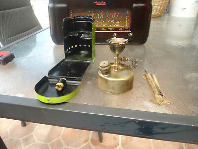 Vintage Miniture Brass Kero Stove /5Inches X 5 Inches /good Condition