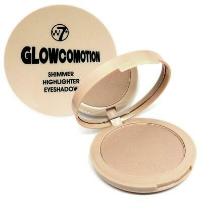 W7 Highlighter GLOWCOMOTION Shimmer Eyeshadow Dupe For theBalm Mary Lou Manizer