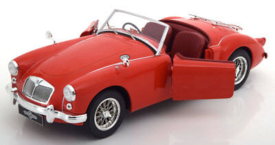 Triple 9 1957 MG A MKI A1500 Convertible open Red 1/18 Scale New Release!
