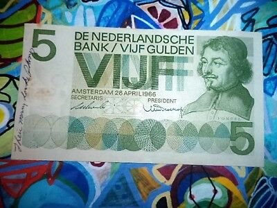 1973 Nederlandsche Bank Netherlands 5 Gulden