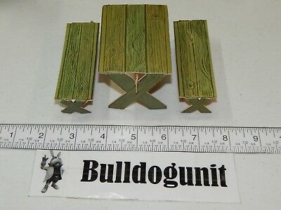 1964 Yogi Play Fun Jellystone Park Picnic Table Bench Pieces Only Toy Whitman