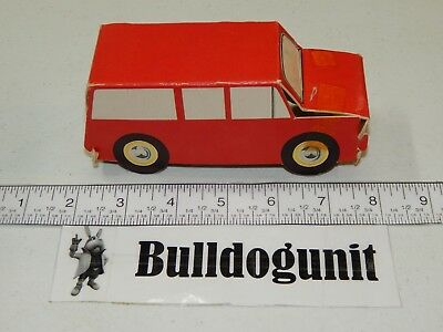 1964 Yogi Play Fun Jellystone Park Red Car Vehicle Piece Only Toy Whitman