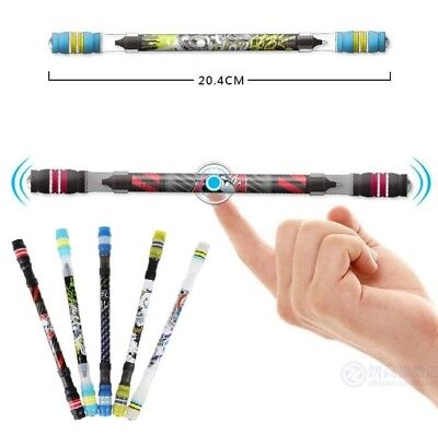 "8.2"" Non Slip Coated Professional Magic Spinning Pen for Champion Competition"