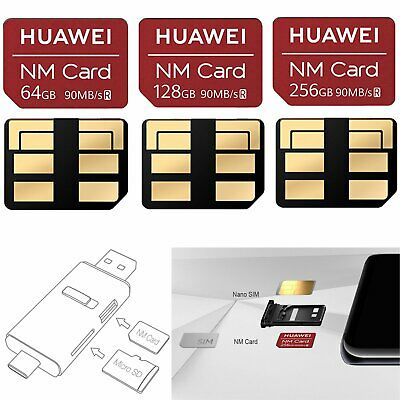 64/128/256GB Memory Card Big Capacity For Huawei mate20 Series NM Nano SIM Card