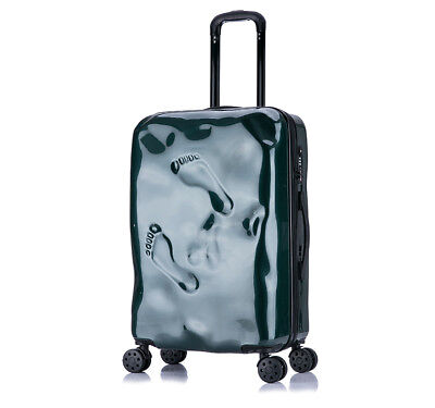 D932 Green Coded Lock Universal Wheel Travel Suitcase Luggage 20 Inches W