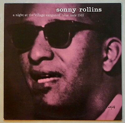"SONNY ROLLINS - A NIGHT AT THE ""VILLAGE VANGUARD"" - Blue Note Record/King Record"