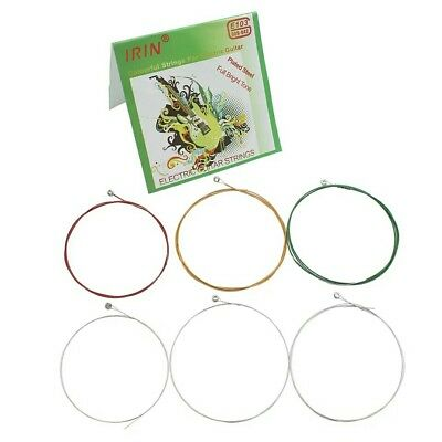 Colorful Plated Steel Acoustic Guitar String 6 pcs/ Set Electric Guitar Strings