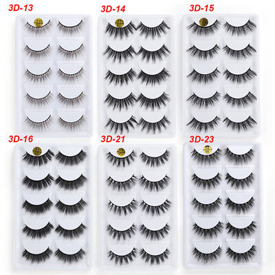 Reusable No Glue False Eyelashes Self Adhesive Cosmetic Fake Lashes Extension