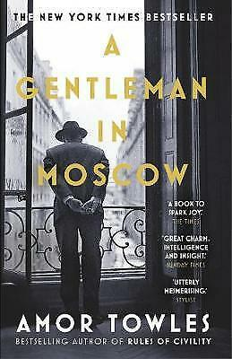 NEW A Gentleman in Moscow by Amor Towles (Free Shipping)