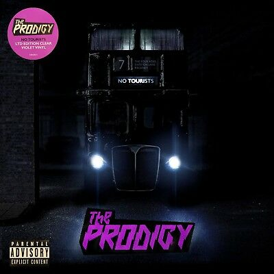 "The Prodigy ""no tourists"" limited clear / violet Vinyl 2LP NEU Album 2018"