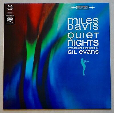 MILES DAVIS - QUIET NIGHTS - Columbia Records / Sony Music Direct Japan - 180g