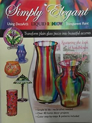 DecoArt Liquid Rainbow Simply Elegant Design Project Book