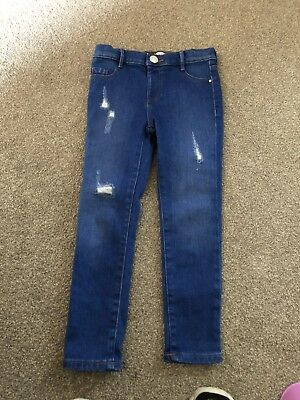 river island Girls molly jeans Aged 6yrs