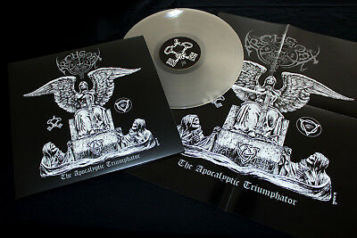 Archgoat - The Apocalyptic Triumphator - LP clear vinyl + poster & big booklet