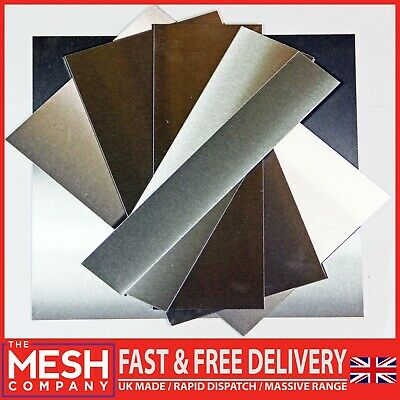 Stainless Steel 304 Sheet Plate 0.7mm to 1.2mm - UK Made & 1st Class Post