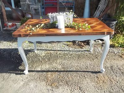 Oak Extending Vintage  French Dining Table Quality Piece Seats 10 Guests