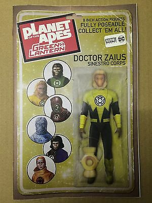 DC / Boom comics:  PLANET OF THE APES / GREEN LANTERN # 2, Action Figure Variant