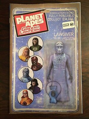 DC / Boom comics:  PLANET OF THE APES / GREEN LANTERN # 4, Action Figure Variant