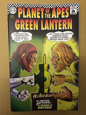 DC / Boom comics:  PLANET OF THE APES / GREEN LANTERN # 2 Classic Cover variant