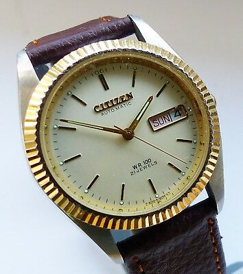 Citizen - WR100 Day-Date Automatic Herren Armbanduhr