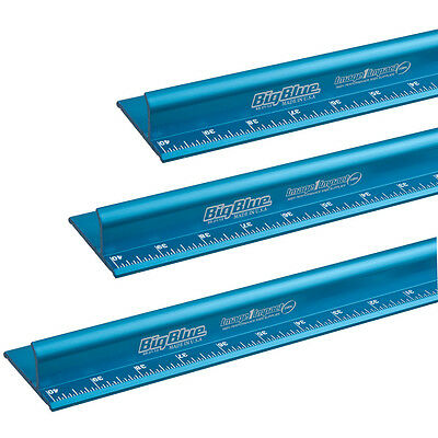 28'' Big Blue Safety Ruler- Heavy Duty Aluminum Ruler- In Stock Ready To Ship!