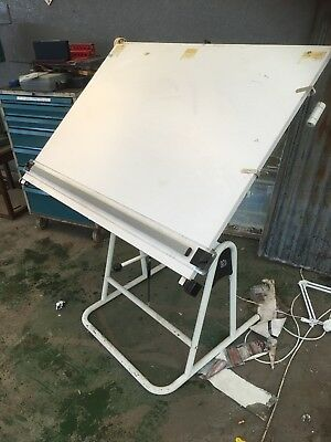 Blundell Harling Weymouth Forum drawing board with parallel motion