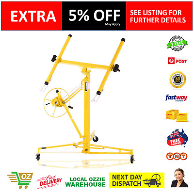 NEW 11ft Drywall Plasterboard Panel Lifter Gyprock 68kg Capacity